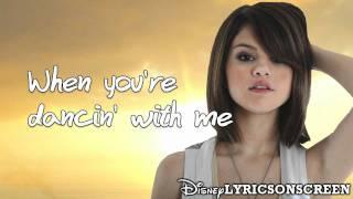 Selena Gomez & The Scene - Shake It Up (Lyrics Video) HD