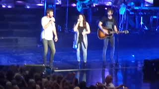 Need You Now - Lady Antebellum 8/12/17 Mansfield, MA