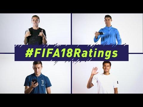 Xxx Mp4 FIFA 18 Official Ratings Reveal Ft Ronaldo Griezmann Alli Muller 3gp Sex