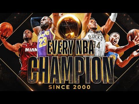 EVERY NBA Championship Celebration 2000 2021 🏆