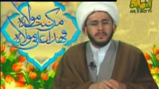 متصل عمري يقول لماذا تقولون يا علي للشيخ حسن الله ياري