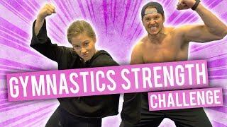 Gymnastics Strength Challenge   Olympics vs NFL