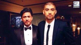 """Shah Rukh Khan Was Arrogant,"" Says International Singer Zayn Malik   LehrenTV"