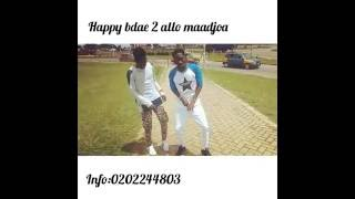 PATORANKING FT Sarkodie - NO KISSING dance video by allo dancers  (happy birthday to allo maadjoa)