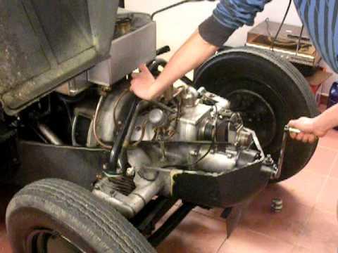 Tatra 12 startování