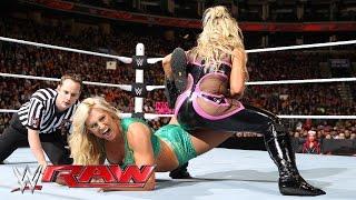 Natalya vs. Charlotte: Raw, March 21, 2016