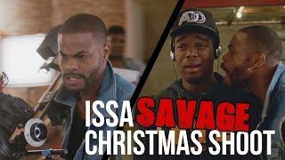 Issa Savage Christmas Shoot by KingBach