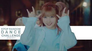 Kpop Random Dance Challenge 2016/2017 (With Mirrored Video)