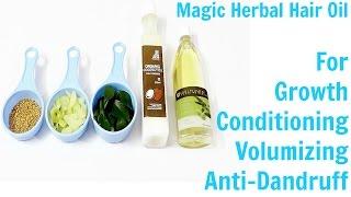 Magic Herbal Hair Oil with Secret Ingredient !!!
