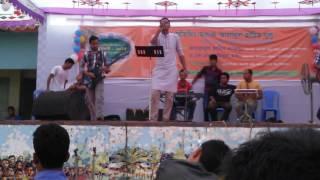 Reunion Concert at Shohid AK High School , Lalmonirhat Nari Hoi Lojjate Lal by Jesan