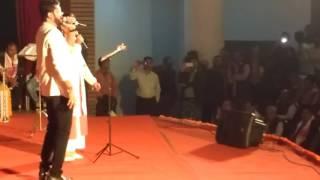 Jyoti mishra  with vikash jha mathili duet song