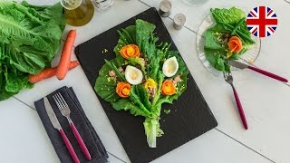 How to present salad in VisualFood style