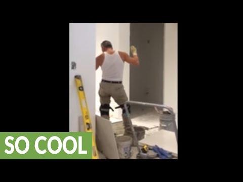Tilesetter caught dancing like nobody's watching!