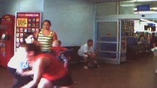 Video: Mom Ditches Baby at Walmart After Shoplifting