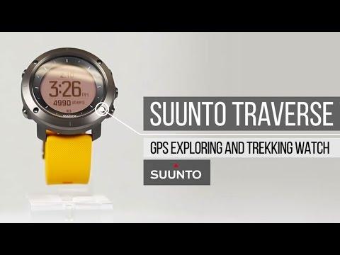 Suunto Traverse Watch - Explore & Trek with Confidence