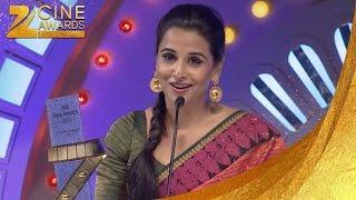 Zee Cine Awards 2012 Best Actor Jury Female Vidya Balan
