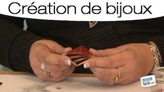 Créer un bijou champlevé et émaillé