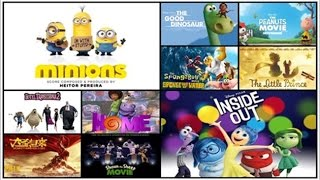 Top 10 Best Animated Movies of 2015 worth watching