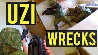 Uzi Wrecks House | American Milsim Operation: Copperhead 3 (KWC Airsoft Uzi Gas Blow Back SMG)