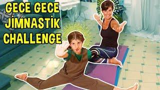 Gece Gece Jimnastik Challenge - TBT   Bizim Aile