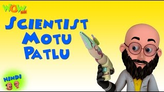 Scientist Motu Patlu - Motu Patlu in Hindi - 3D Animation Cartoon for Kids -As on Nickelodeon