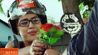 Ma Ta Desh Khosiyako |  REFUGEE Nepali Movie Song ft. Jivan Luitel, Rista Basnet