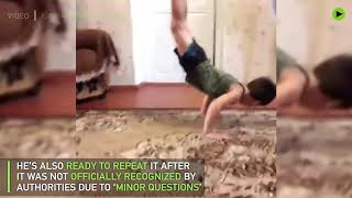 This 5yo Chechen reportedly can do 4k+ push-ups without a break