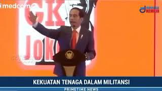 Presiden Jokowi GK (Gerakan Kemajuan) , Pidato Lengkap