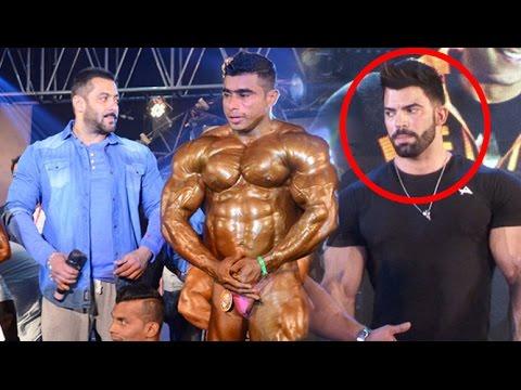 Salman Khan Gym Workout With Body Builder Sergi Constance
