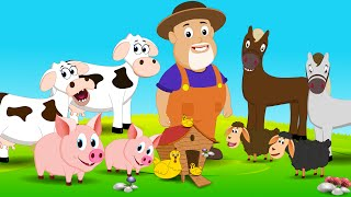 Old Macdonald Had A Farm | Nursery Rhymes For Children | Little Kids TV