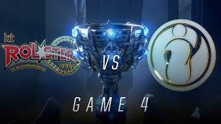 Mundial 2018: kt Rolster x Invictus Gaming (Jogo 4) | Quartas de Final - Dia 1