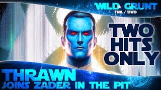 2 HITS ONLY: Grand Admiral Thrawn under Zader - Solo Heroic Pit Raid | Star Wars Galaxy of Heroes