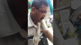Bribe taken by police Mr  Manoj chowdhry.