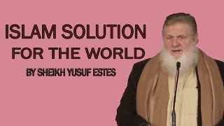 Yusuf Estes In Norway   Islam Solution For The World in Public Lecture