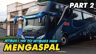 SIAP MENGASPAL!! | REPAIR BODY BUS GMS JETBUS 1 HD JADI JETBUS 2 HDD | PART2