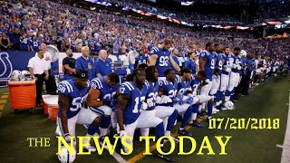 Trump Wants Suspensions For NFL Players Who Kneel During Anthem | News Today | 07/21/2018 | Don...