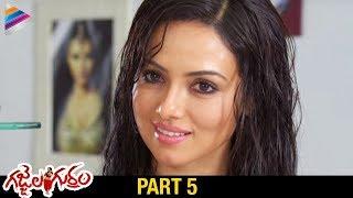 Gajjala Gurram Telugu Full Movie   Part 5   Sana Khan   Aravind Akash   Telugu Filmnagar