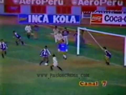 El clasico de la verguenza Universitario 2 0 alianza lima Libertadores 1988 parte 5