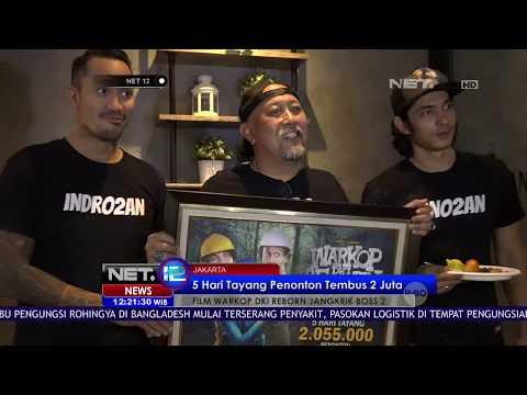 Tembus Dua Juta Penonton Pemain Film Warkop DKI Reborn Part 2 Menggelar Syukuran - NET12