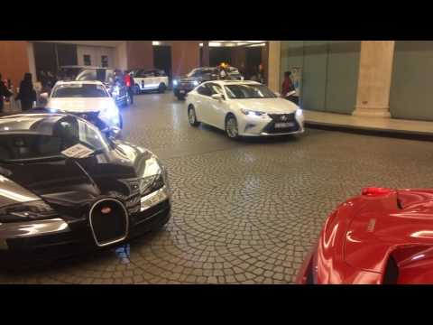 Bugatti Veyron in The Mall of the Emirates