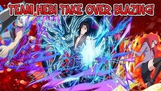 TEAM HEBI BANNER! NEW 6* SASUKE AND KARIN! | Naruto Blazing [JP] Update 2/14/2017