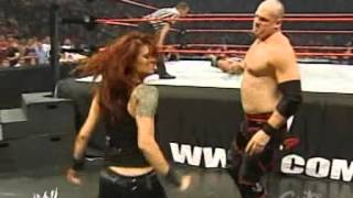 2005 07 11 RAW   Edge with Lita vs  Kane + Matt Hardy