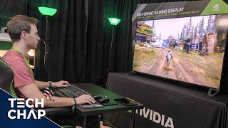 The Ultimate PC Gaming Monitor! 65-inch 4K HDR 120hz G-Sync | The Tech Chap