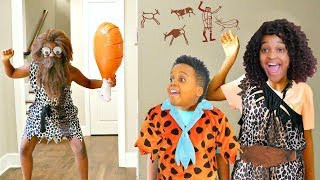 CREEPY CAVEMAN vs Bad Baby Shiloh and Shasha - Onyx Kids