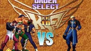 [The King of Fighters 96]vs Chizuru, Goenitz(Lv.8)