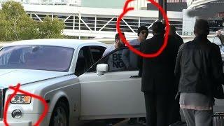 salman khan with personal bodyguard shera and his vip Car