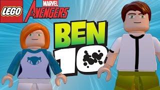 LEGO Marvel Avengers (Vingadores) BEN 10 - Ben e Gwen (MOD)