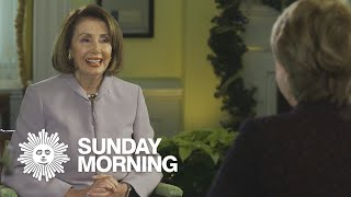 """Nancy Pelosi """"in the zone"""" with crossword puzzles"""