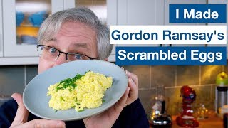 🔵 I Made Gordon Ramsay's Scrambled Eggs || Glen & Friends Cooking