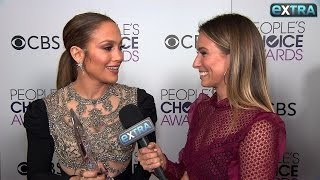 Backstage with Jennifer Lopez After Her People's Choice Awards Win